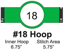 Picture of Tajima #18 Embroidery Hoop