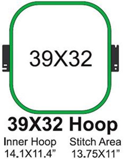 Picture of Tajima 39x32 Embroidery Hoop