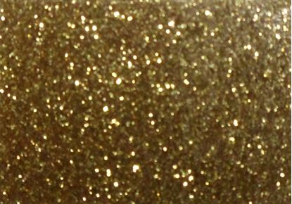 "Picture of Easy Applique Fashion Gold Glitter-19"" x 36"""