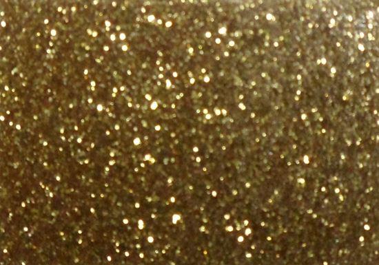 "Picture of Easy Applique Fashion Gold Glitter-19"" x 36"""