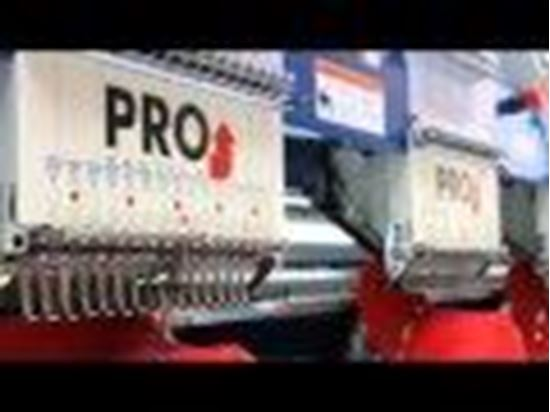 Picture of Pro Series Embroidery Machine Video