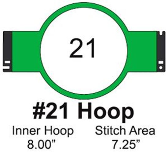 Picture of Tajima #21 Embroidery Hoop