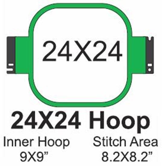 Picture of Tajima 24x24 Embroidery Hoop