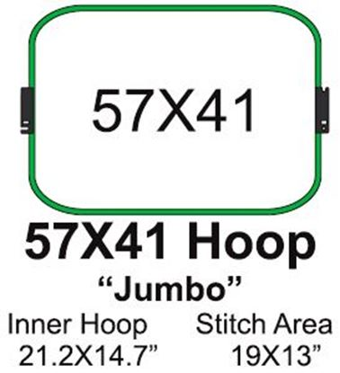 Picture of Tajima 57x41 Embroidery Hoop