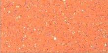 """Picture of Easy Applique Fashion Fluorescent Orange Glitter- 19"""" x 36"""""""